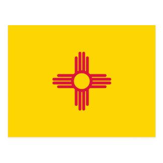 Bandera de New México Tarjeta Postal