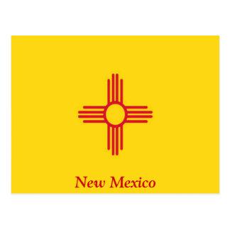 Bandera de New México Tarjetas Postales