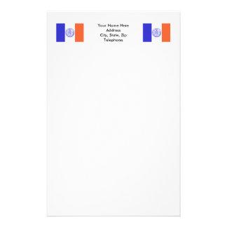 Bandera de New York City Personalized Stationery