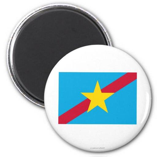 Bandera de Ngaraard Imán Redondo 5 Cm