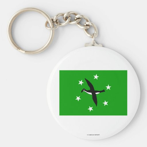 Bandera de Ngchesar Llavero Personalizado