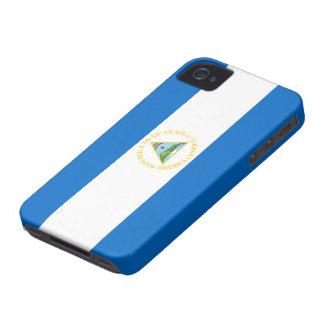 Bandera de Nicaragua Carcasa Para iPhone 4 De Case-Mate