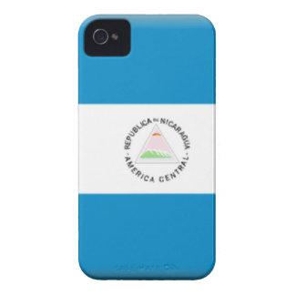 Bandera de Nicaragua Case-Mate iPhone 4 Cobertura