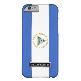 Bandera de Nicaragua Funda Barely There iPhone 6