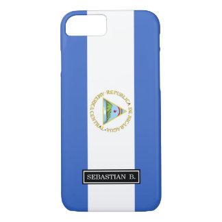 Bandera de Nicaragua Funda iPhone 7