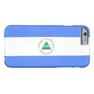 Bandera de Nicaragua Funda Para iPhone 6 Barely There