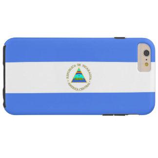 Bandera de Nicaragua Funda Resistente iPhone 6 Plus