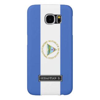 Bandera de Nicaragua Funda Samsung Galaxy S6