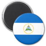 Bandera de Nicaragua Imán De Frigorífico