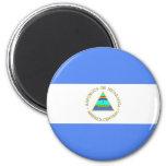 Bandera de Nicaragua Imanes De Nevera