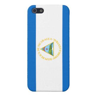 Bandera de Nicaragua iPhone 5 Fundas