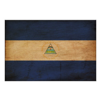 Bandera de Nicaragua Impresiones