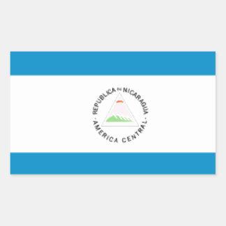 Bandera de Nicaragua Rectangular Altavoz