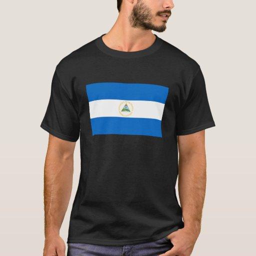 Bandera de Nicaragua Playera