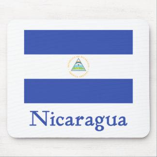 Bandera de Nicaragua Tapetes De Raton