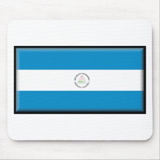 Bandera de Nicaragua Alfombrillas De Ratones