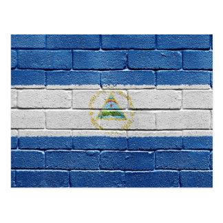Bandera de Nicaragua Postal