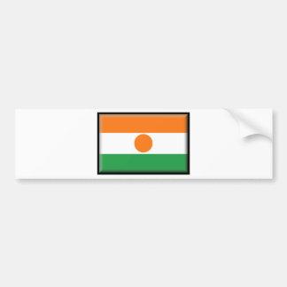 Bandera de Niger Pegatina Para Auto
