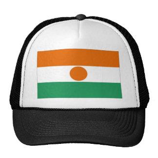 Bandera de Niger Gorras