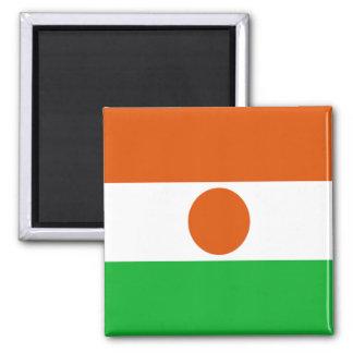 Bandera de Niger Imán Cuadrado