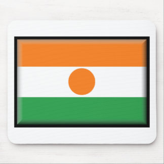 Bandera de Niger Tapete De Ratones