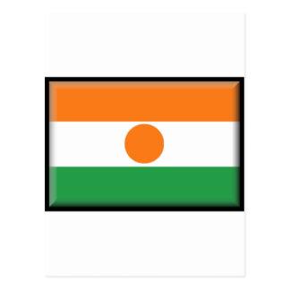 Bandera de Niger Tarjeta Postal