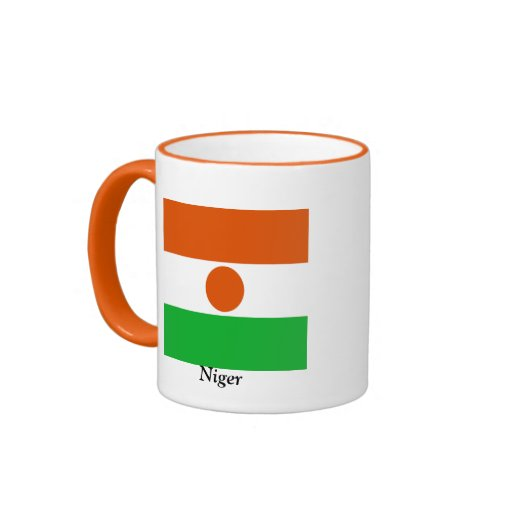 Bandera de Niger Tazas De Café