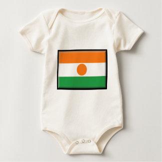 Bandera de Niger Traje De Bebé