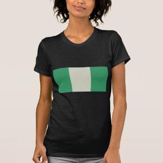 Bandera de Nigeria Camisetas