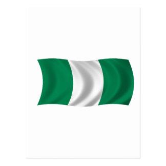 Bandera de Nigeria Postal