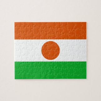 Bandera de Nigerien Rompecabeza