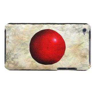 Bandera de Nihon de la caja patriótica del iPod Touch Case-Mate Cárcasas