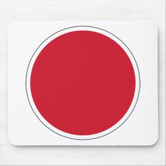 bandera de Nipón Roundel del 航空自衛隊の国籍マーク de JASDF Alfombrillas De Raton