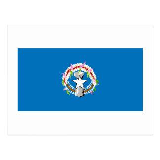 Bandera de Northern Mariana Islands Tarjeta Postal
