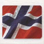 Bandera de Noruega Alfombrilla De Raton