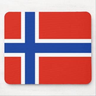 Bandera de Noruega Alfombrilla De Ratones