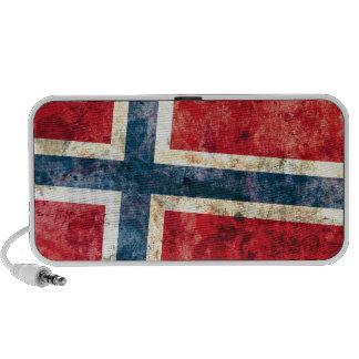 Bandera de Noruega Laptop Altavoz