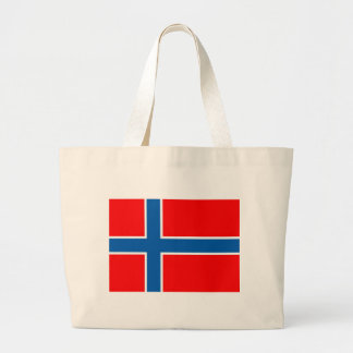 Bandera de Noruega Bolsa Tela Grande