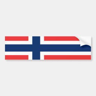 Bandera de Noruega Etiqueta De Parachoque