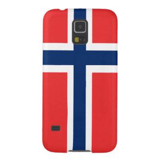 Bandera de Noruega Carcasa Para Galaxy S5