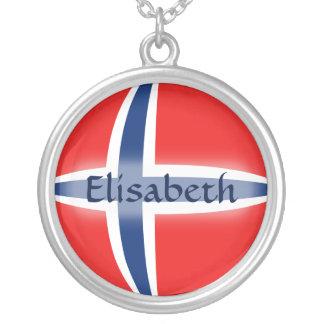 Bandera de Noruega + Collar conocido