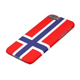 Bandera de Noruega Funda De iPhone 6 Barely There