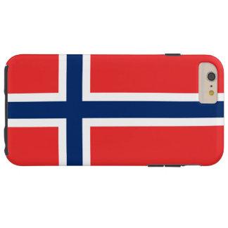 Bandera de Noruega Funda De iPhone 6 Plus Tough