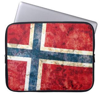 Bandera de Noruega Funda Computadora