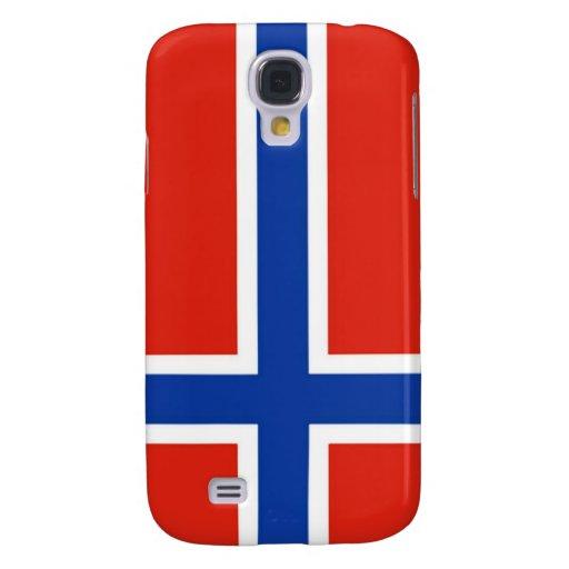 Bandera de Noruega Funda Para Galaxy S4