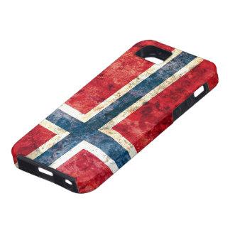 Bandera de Noruega Funda Para iPhone 5 Tough