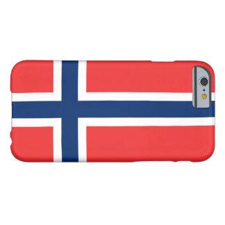 Bandera de Noruega Funda Para iPhone 6 Barely There