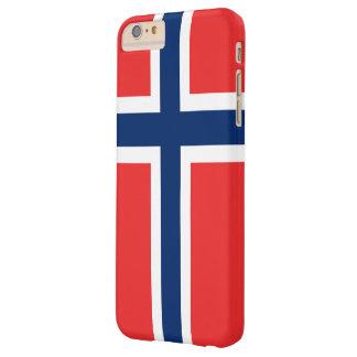 Bandera de Noruega Funda Para iPhone 6 Plus Barely There