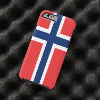 Bandera de Noruega Funda Para iPhone 6 Tough