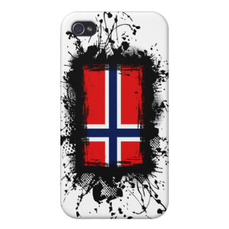 Bandera de Noruega iPhone 4/4S Carcasa